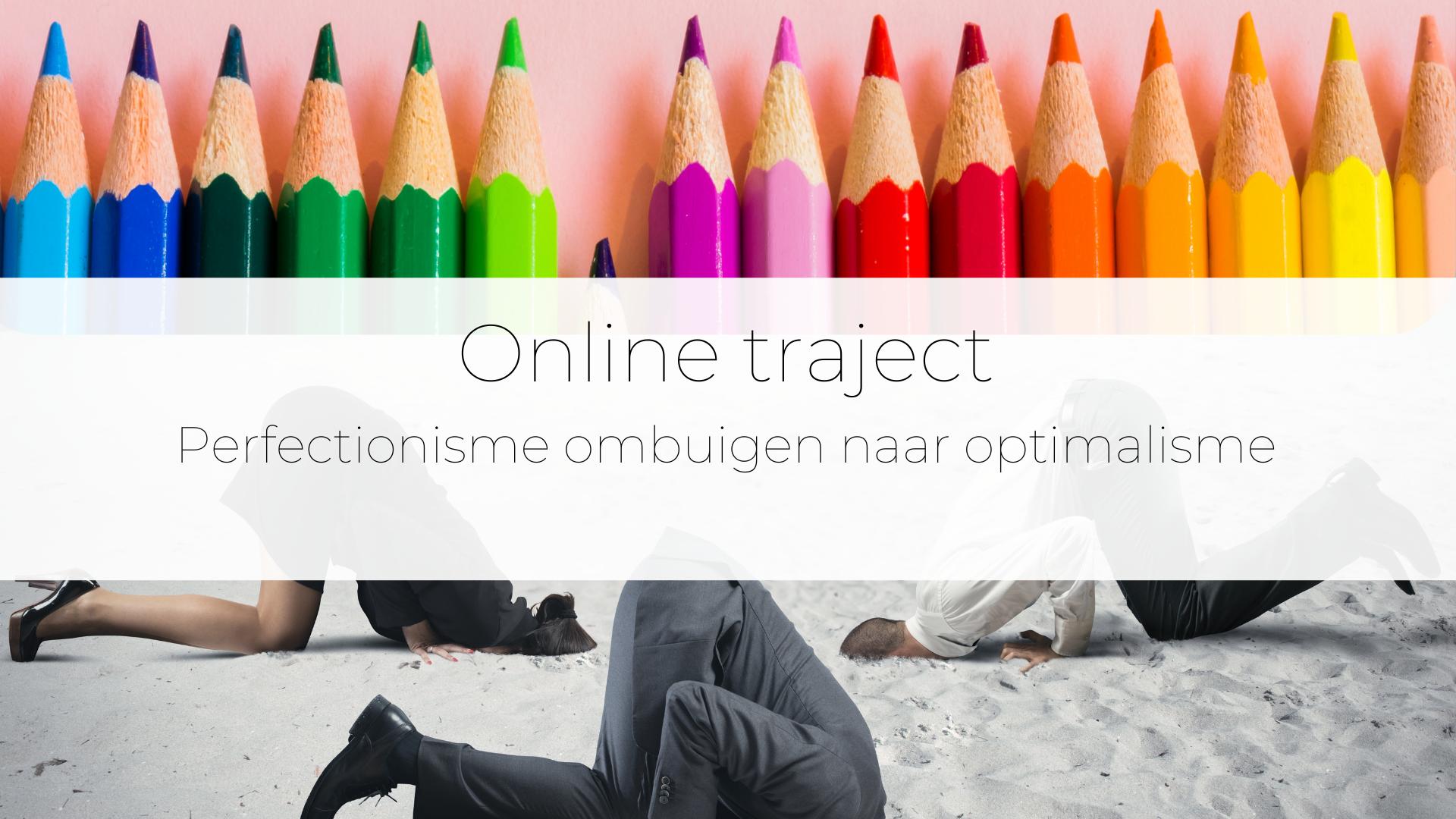 Perfectionisme ombuigen – online traject